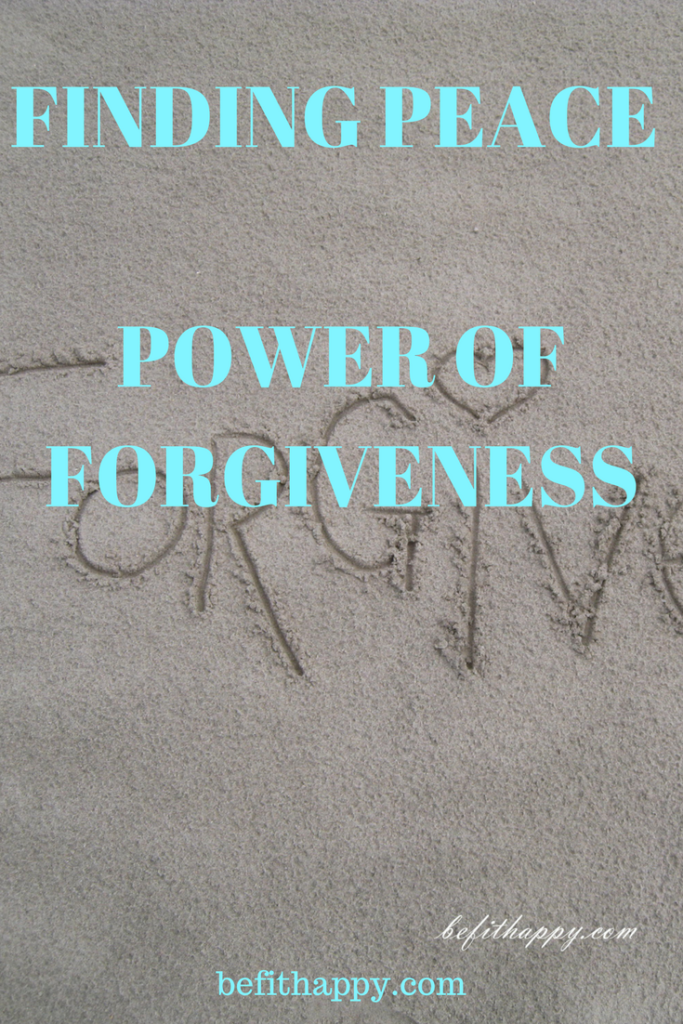 finding peace power of forgiveness
